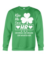 Kiss me - I'm a HR Crewneck Sweatshirt thumbnail