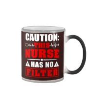Nurse - No filter Color Changing Mug thumbnail
