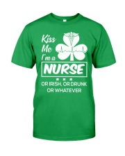 Kiss me - I'm a Nurse Classic T-Shirt front