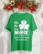 Kiss me - I'm a Nurse Classic T-Shirt lifestyle-holiday-crewneck-front-2