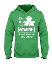 Kiss me - I'm a Nurse Hooded Sweatshirt thumbnail