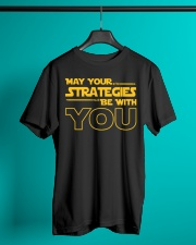 Teacher - May your strategies be with you Classic T-Shirt lifestyle-mens-crewneck-front-3