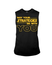 Teacher - May your strategies be with you Sleeveless Tee thumbnail