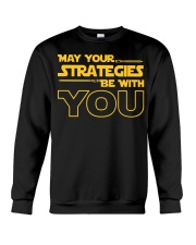 Teacher - May your strategies be with you Crewneck Sweatshirt thumbnail