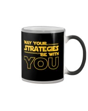 Teacher - May your strategies be with you Color Changing Mug thumbnail