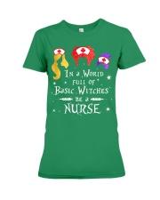 Nurse - Basic Witches Premium Fit Ladies Tee thumbnail