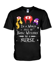 Nurse - Basic Witches V-Neck T-Shirt thumbnail