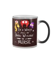 Nurse - Basic Witches Color Changing Mug thumbnail