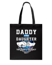 Daddy and Daughter - The Legend and The Legacy EMS Tote Bag thumbnail