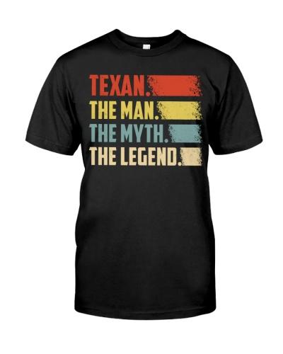 Texan - Man Legend