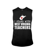 Teacher - Stand with West Virginia Teachers Sleeveless Tee thumbnail