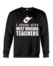 Teacher - Stand with West Virginia Teachers Crewneck Sweatshirt thumbnail