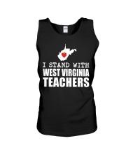 Teacher - Stand with West Virginia Teachers Unisex Tank thumbnail