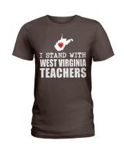 Teacher - Stand with West Virginia Teachers Ladies T-Shirt thumbnail