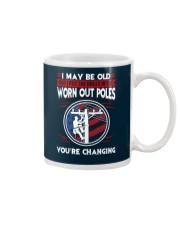 Lineman - Worn Out Poles - Living the High Life Mug thumbnail