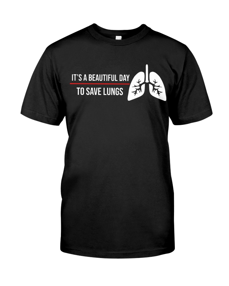 Respiratory Therapist - Saves Lung Classic T-Shirt