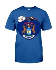 Nurse - National Nurse Week for Michigan Classic T-Shirt front