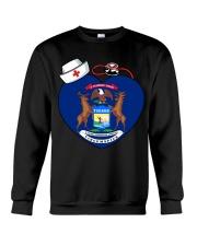 Nurse - National Nurse Week for Michigan Crewneck Sweatshirt thumbnail