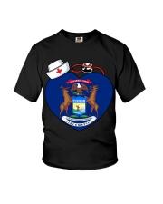 Nurse - National Nurse Week for Michigan Youth T-Shirt thumbnail