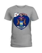 Nurse - National Nurse Week for Michigan Ladies T-Shirt thumbnail