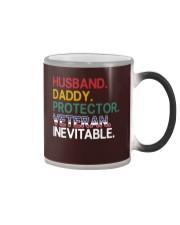 Husband - Daddy - Veteran - Inevitable Color Changing Mug thumbnail