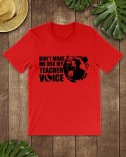 Teacher - California Teacher Voice Classic T-Shirt lifestyle-mens-crewneck-front-18