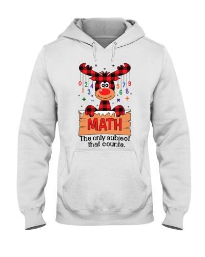 Math Teacher - The Only subject - Christmas gift