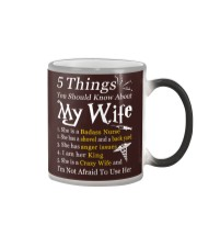 Nurse - 5 Things you should know about My Wife Color Changing Mug thumbnail