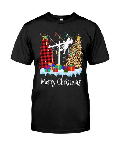 Christmas Lineman - Light up Christmas Lights