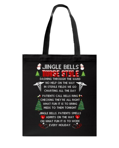 Nurse shirt - Jingle Bells - Christmas gift