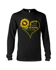 Librarian - Reading in my veins Long Sleeve Tee thumbnail