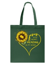 Librarian - Reading in my veins Tote Bag thumbnail