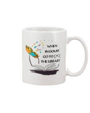 When In Doubt Go To Librarian  Mug thumbnail