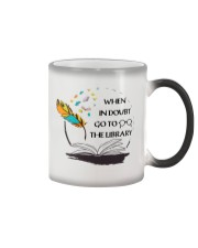 When In Doubt Go To Librarian  Color Changing Mug thumbnail