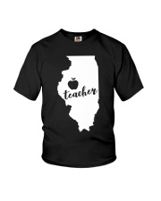 Illinois Teacher - Map Youth T-Shirt thumbnail