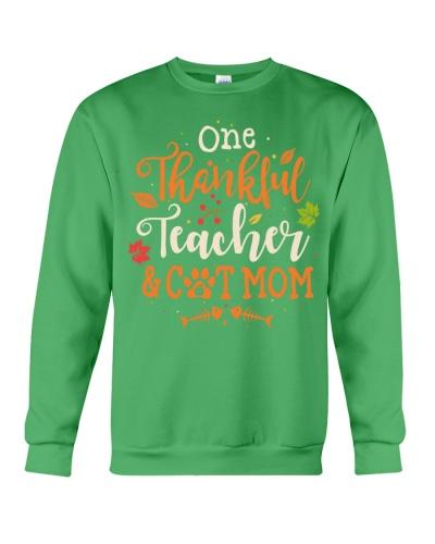 Teacher - Thankful and Cat Mom