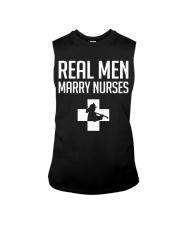 Real Men Marry Nurses - Firefighter Sleeveless Tee thumbnail