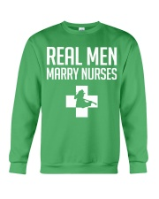 Real Men Marry Nurses - Firefighter Crewneck Sweatshirt thumbnail