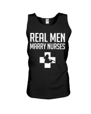Real Men Marry Nurses - Firefighter Unisex Tank thumbnail