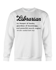 Librarian - Definition Crewneck Sweatshirt thumbnail