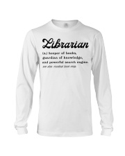 Librarian - Definition Long Sleeve Tee thumbnail