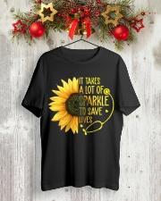 Nurse - Save lives Classic T-Shirt lifestyle-holiday-crewneck-front-2
