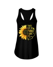 Nurse - Save lives Ladies Flowy Tank tile