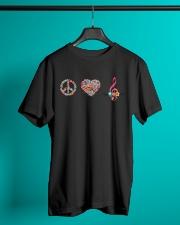 Peace - Music Teacher  Classic T-Shirt lifestyle-mens-crewneck-front-3
