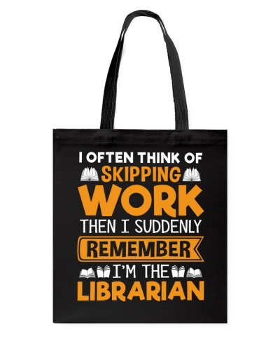 Librarian - I often think of Skipping Work
