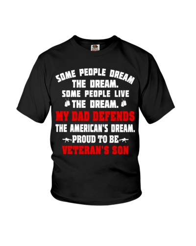 Veteran - My Dad defend the American's dream