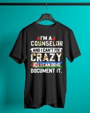 Counselor - Document It Classic T-Shirt lifestyle-mens-crewneck-front-3