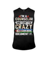 Counselor - Document It Sleeveless Tee thumbnail