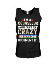 Counselor - Document It Unisex Tank thumbnail