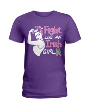 Fight Like An Irish Girl Ladies T-Shirt thumbnail